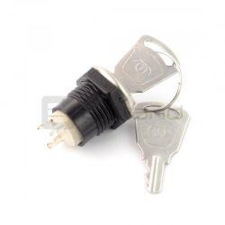 Przełącznik - stacyjka ON-OFF + kluczyki