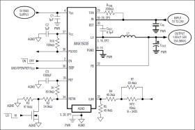 MAX15035 15A, DC/DC Regulator with Internal Switches
