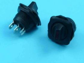 R-1945A 10A/250V 2-PIN/2-POZ+LED ON/OFF