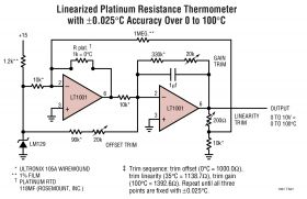LT1001 - Precision Operational Amplifier