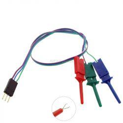 3 przewody pomiarowe do testera LCR-T4 (ARD-6837)