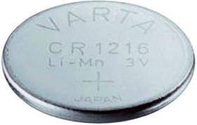 Bateria guzikowa, litowa Varta CR 1216, 3V, 25 mAh