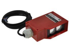 Czujnik; fotoelektryczny; G100-D150PH; PNP; NO/NC; odbiciowy; 2m; 10÷30V; DC; 200mA; prostopadłościenny; 36x69mm; z przewodem 2m