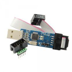 Programator USBasp + Złącze IDC10 do płytki
