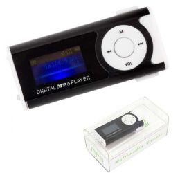 Odtwarzacz MP3 na karty micro SD z LCD, FM