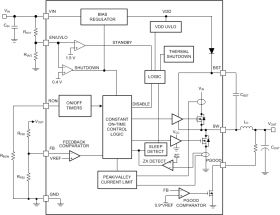 LM5164-Q1 - 6-V to 100-V input, 1-A synchronous DC-DC buck converter with ultra-low IQ