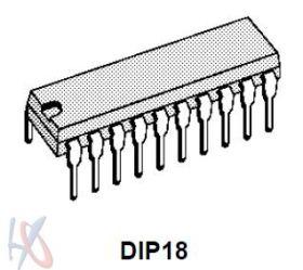PT2262 (DIP-18)