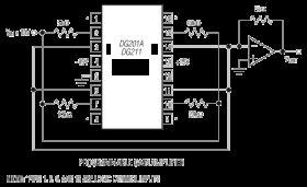 DG211 Quad SPST, CMOS Analog Switch (4 NC)