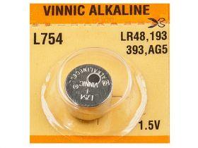 Bateria alkaliczna AG5, LR48, L754; Vinnic