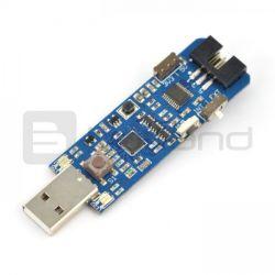 Programator AVR MKII MINI zgodny z MKII ISP - wtyk USB
