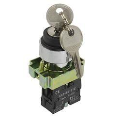 Przełącznik Stacyjka metal 3A z kluczykiem