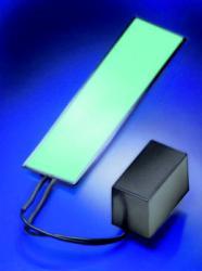 Folia elektroluminescencyjna, zielona, 138 x 34 mm