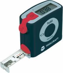 Elektroniczna miara zwijana Toolcraft z wyświetlaczem cyfrowym, 5m