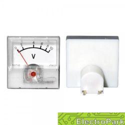Miernik analogowy-mini woltomierz 10V na panel