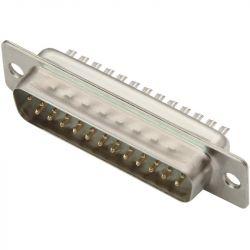 DB25 WTYK PROSTY 25 pin - CANON 25 LUTOWANE NA KABEL