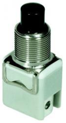 Okrągły przełącznik wciskowy APEM 1212A-2