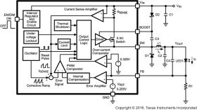 LM3405 - 1.6-MHz, 1-A constant current buck regulator for powering LEDs