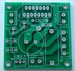 A-113pcb. Wzmacniacz stereo 2x25W z TDA7377