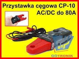 Przystawka cęgowa CP-10 CEM do 80A AC/DC