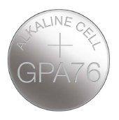 Symbol: GPA76 Bateria A76 (LR44, 1154, AG13) 1.5V - GP