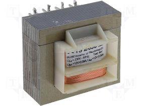 TS2/036 Transformator: sieciowy; 2VA; 230VAC; 12V; 12V; 0,09A; 0,09A