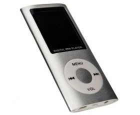 Odtwarzacz MP4/MP3 FM + mikrofon