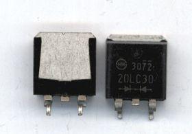 SF20LC30 20A 300V 25 ns D2PAK DIODA