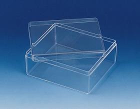Plastikowe pudełka kwadratowe