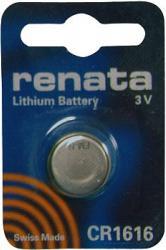 Bateria guzikowa, litowa Renata CR 1616, 3V, 50 mAh