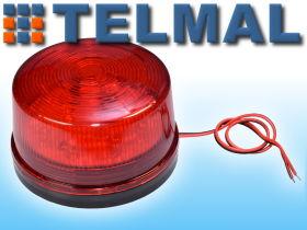 sygnalizator świetlny kogut migacz czerwony
