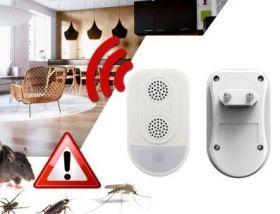 Odstraszacz gryzoni i komarów 230V + LED