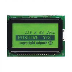 WYŚWIETLACZ GRAFICZNY LCD 128x64 H Y/G