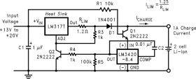 LM3420 - Lithium-Ion Battery Charge Controller
