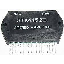 STK4152 II AF Power Amplifier (Split Power Supply)