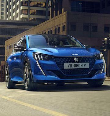 Peugeot voiture électrique