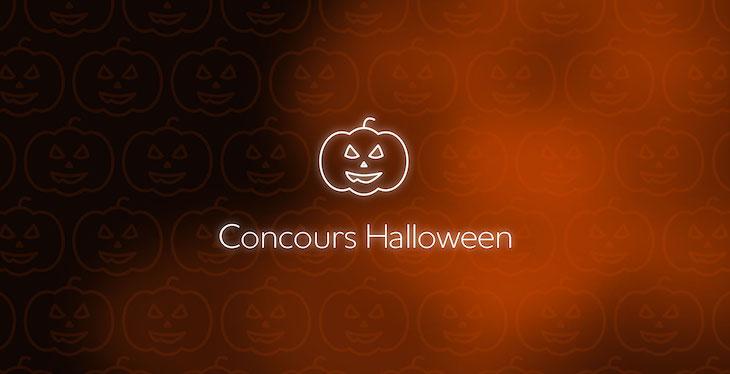 Halloween objets connectés
