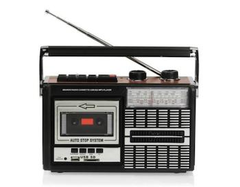 radio-cassette connecté