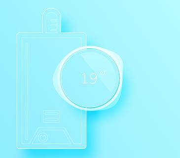 thermostat chauffage gaz