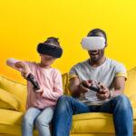 jeux connectés en famille
