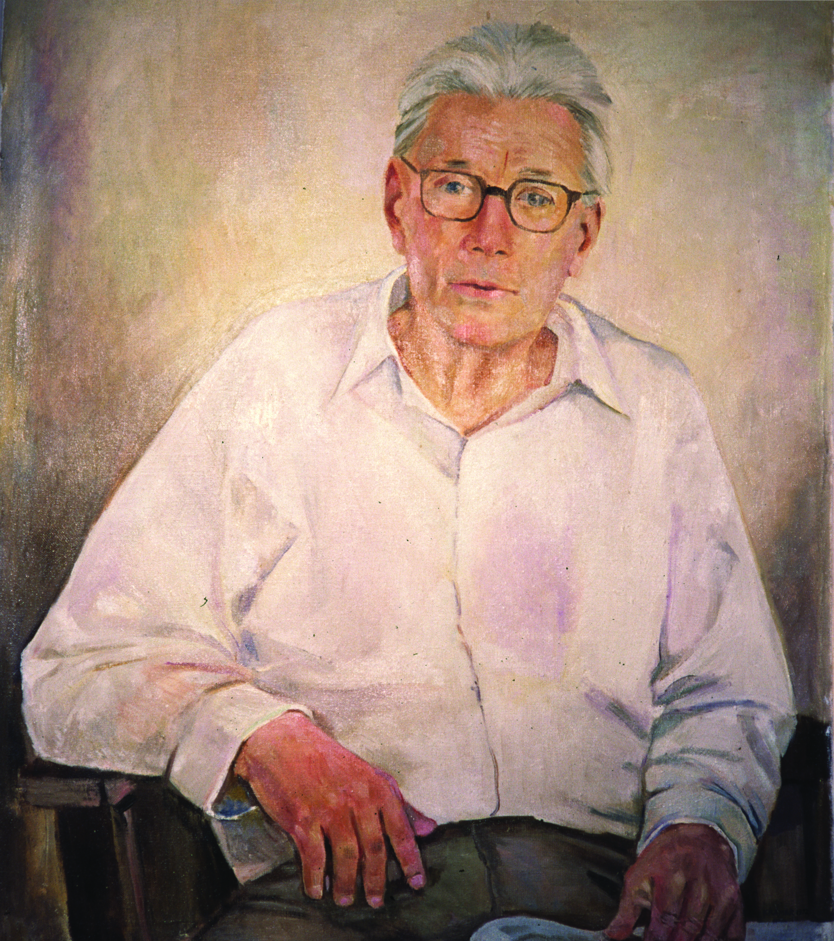 Edith's painting of her father