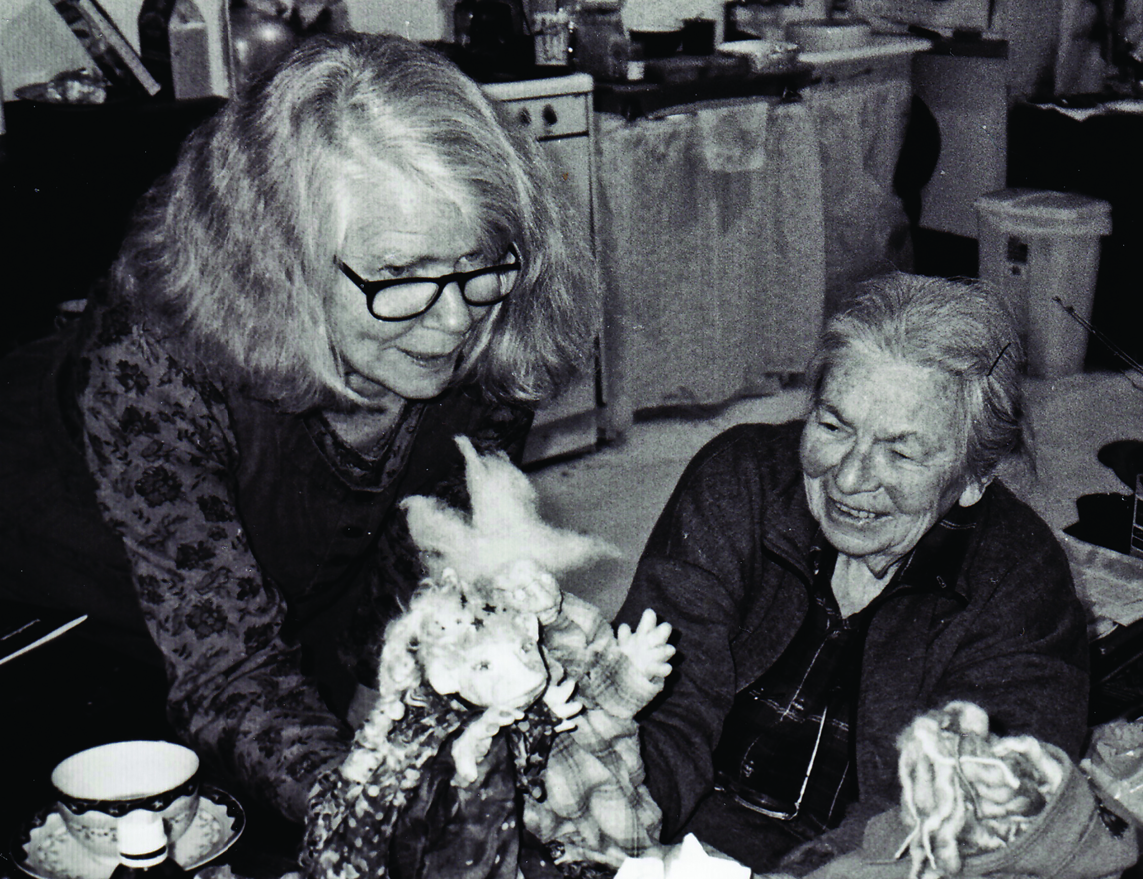Edith and Martha Haeseler