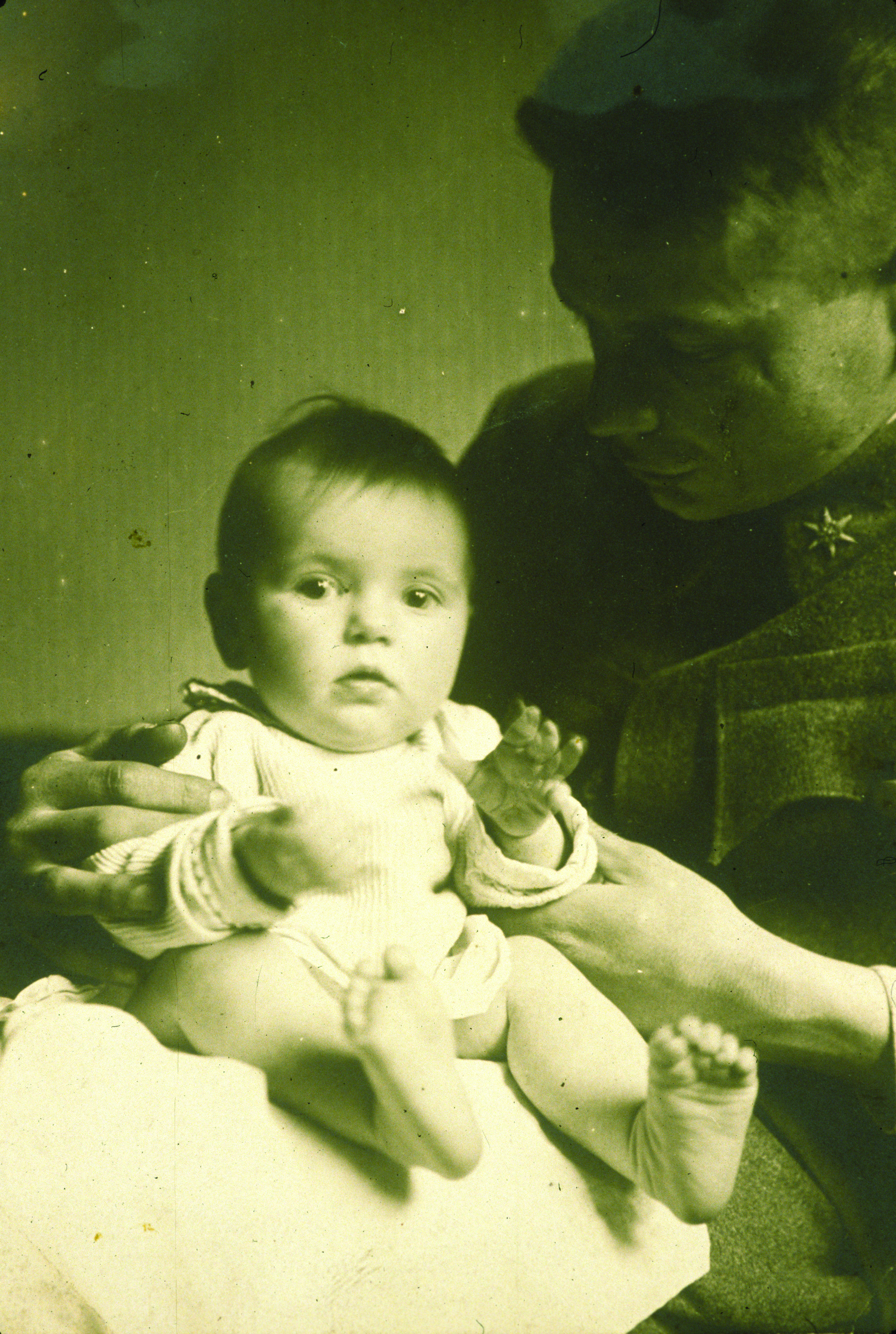 Edith with her father