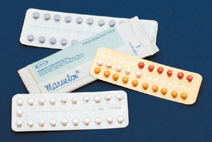 Figure 6.1 The oral contraceptive pill.