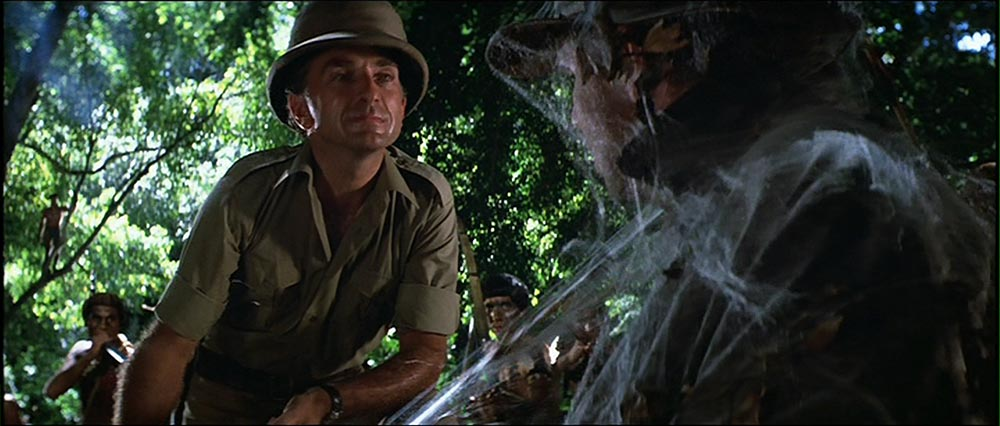 Figure 3.2 Raiders of the Lost Ark: Belloq serves as the antagonist to Indy's protagonist.