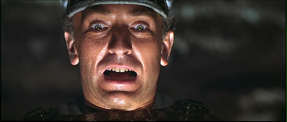 Figure 3.4 The climax of Raiders of the Lost Ark brings the narrative conflict to a peak.