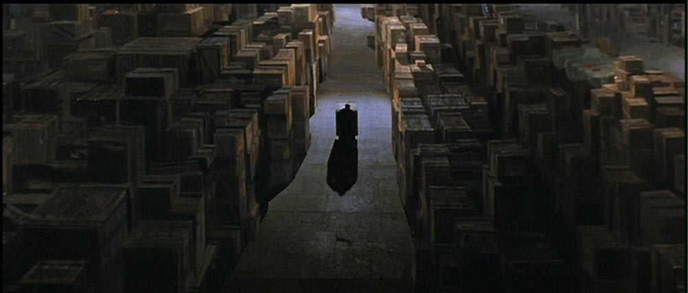 Figure 3.5 Raiders of the Lost Ark: Storing the Ark in a huge warehouse is part of the film's narrative closure.