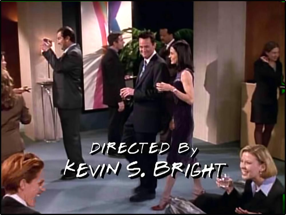Figure 3.8 More Friends exposition: A secondary storyline develops between Monica and Chandler.
