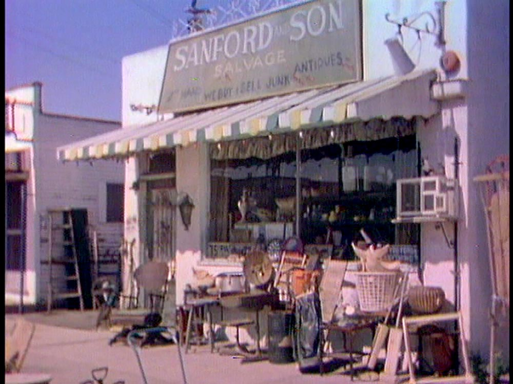 Figure 4.11 The setting of Sanford and Son contributes to building its characters.