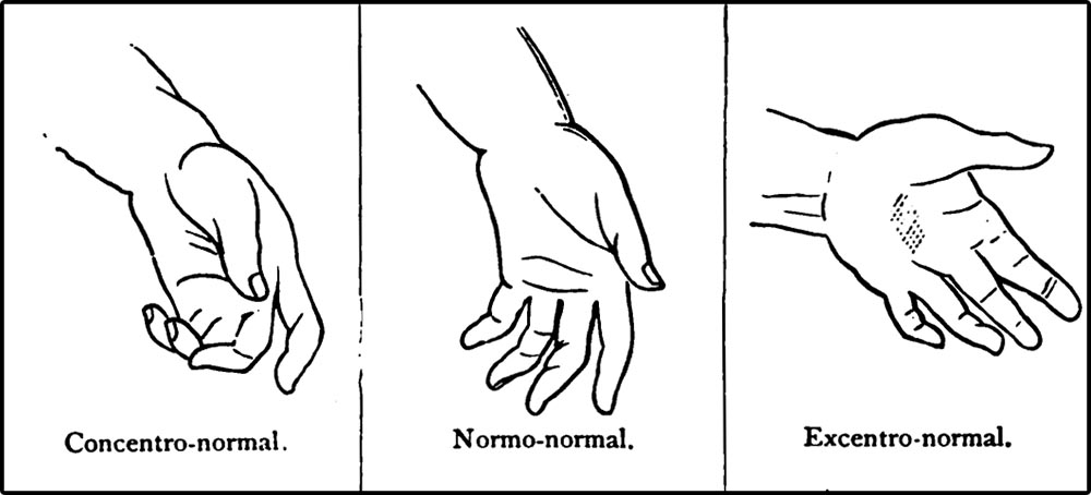 Figure 4.15 The Delsarte system claims there is a strict vocabulary of gesture.