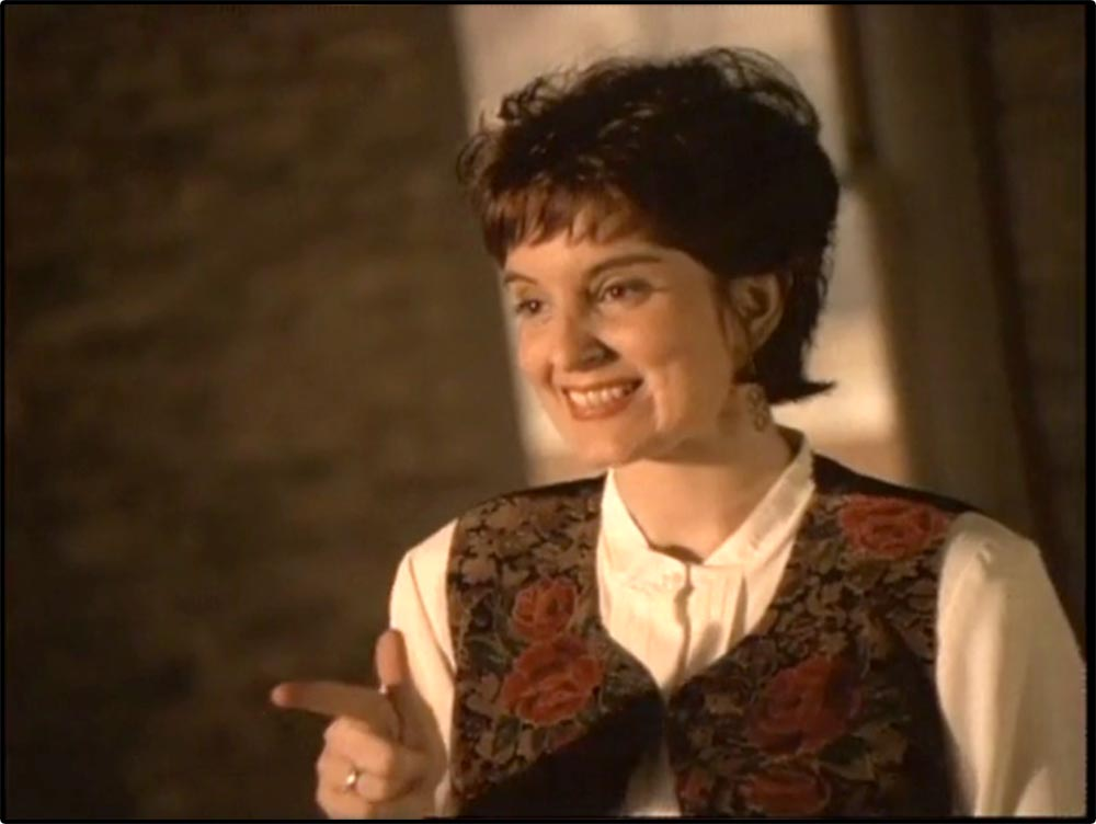 Figure 4.28 Tina Fey appears in a 1995 Mutual Savings Bank commercial.
